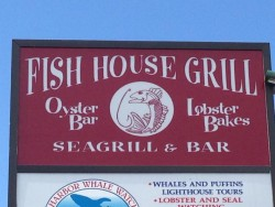 Fish House Grill in Bar Harbor